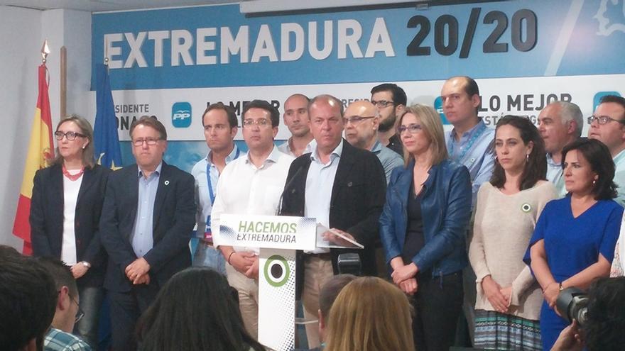 Monago propondrá al PP que deje gobernar a Vara con una abstención en la investidura del socialista