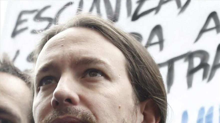 """Pablo Iglesias ve """"elementos positivos"""" en el discurso de Susana Díaz"""