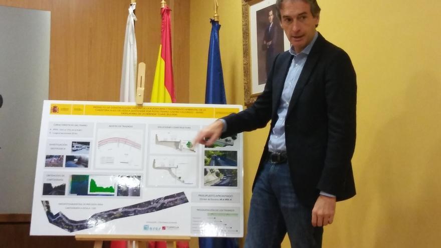 Fomento invertirá cerca de 60 millones en un nuevo trazado en 20 km en el Desfiladero de la Hermida