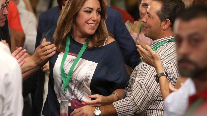 Susana Díaz saca adelante su informe de gestión con un 94,8% de apoyo