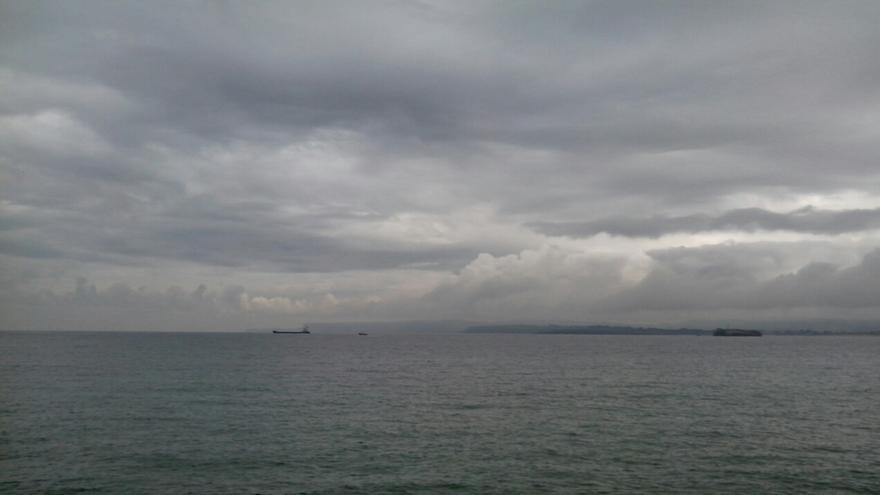 Entrada al puerto de El Havre   RPLl