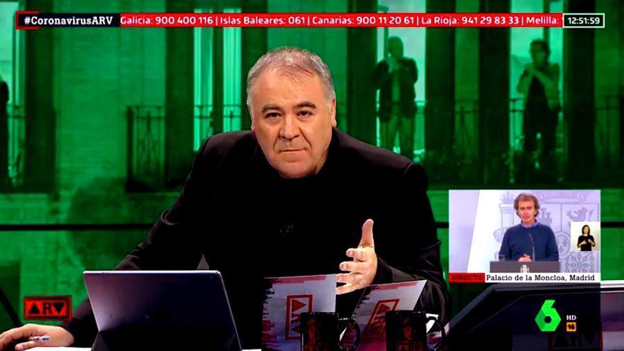 Antonio García Ferreras en 'Al rojo vivo' (archivo)