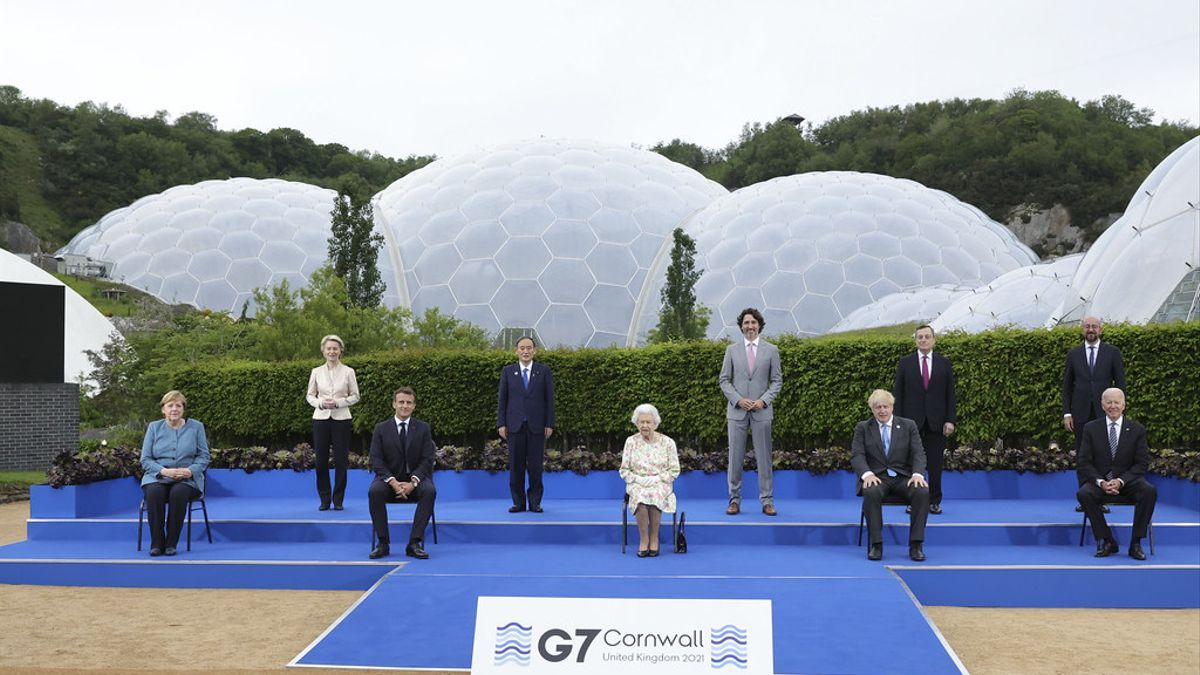 Los líderes del G7 se reunieron en una cumbre en Inglaterra