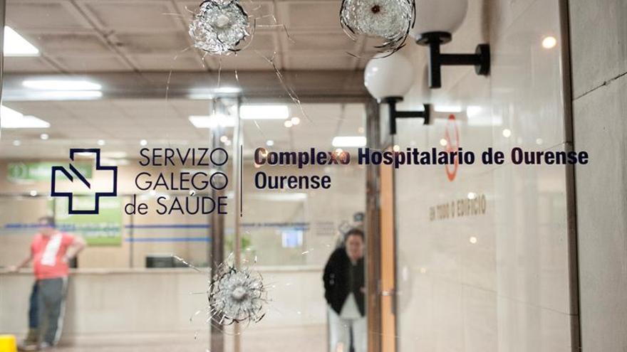Dos heridos en un tiroteo entre familias gitanas en la entrada de un hospital