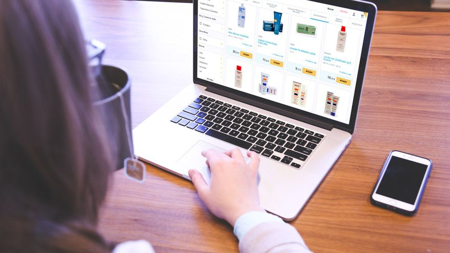 Todos los productos a la venta en parafarmacias tradicionales también pueden adquirirse por internet.