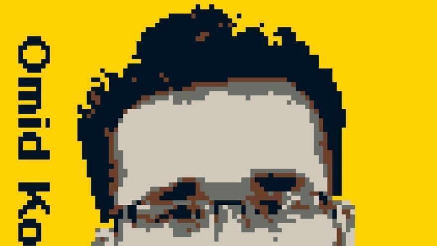 Omid Kokabee cumple una condena de 10 años en la prisión de Evin de Teherán por negarse a trabajar en proyectos militares © Ai Weiwei, Trace, 2014 (preliminary design detail); courtesy Ai Weiwei Studio and FOR-SITE Foundation
