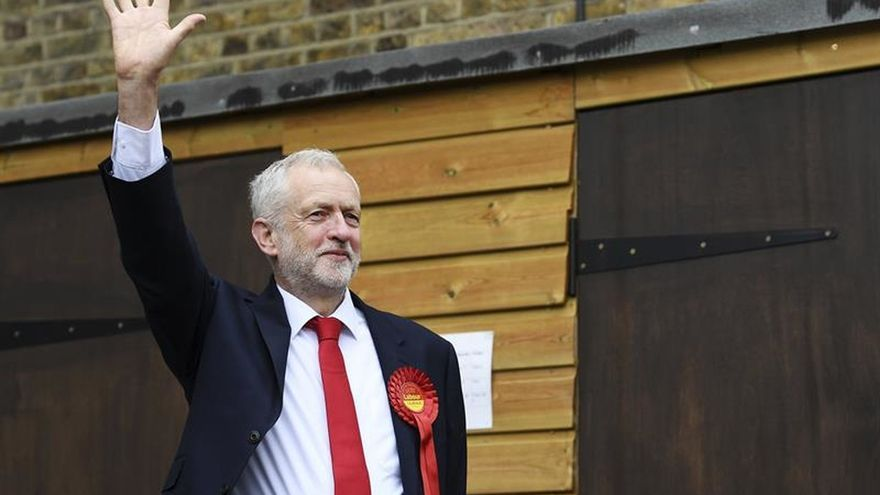 Imagen de archivo del líder de los laboristas, Jeremy Corbyn.