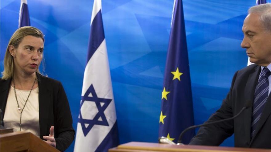 Mogherini apoya el Estado palestino y pide retomar el diálogo desde otro ángulo