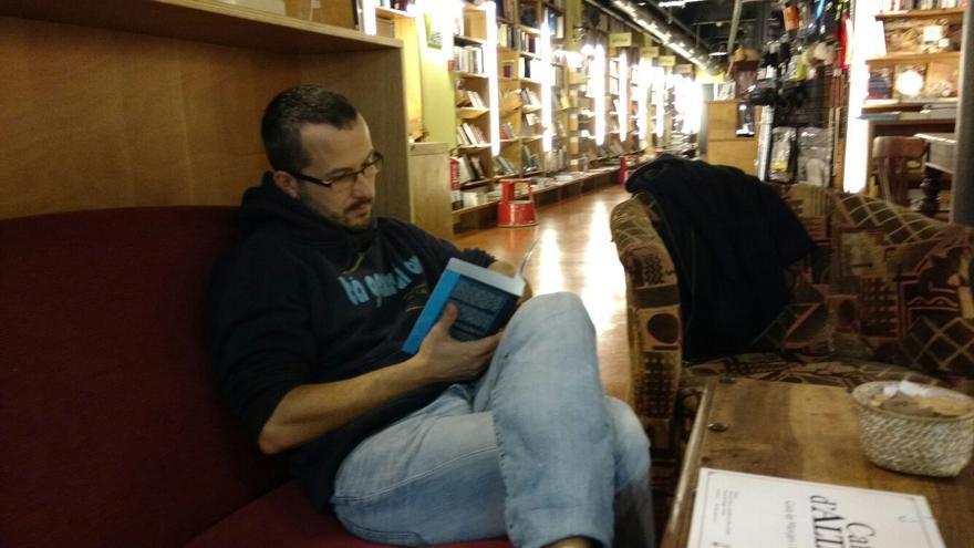Natxo Sorolla, autor del estudio sobre la situación del catalán en La Franja.