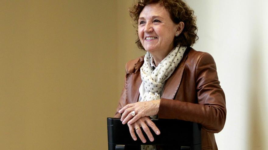 Carmen Caffarel Serra, catedrática de comunicación audiovisual en la Universidad Rey Juan Carlos de Madrid, fue directora general de RTVE entre 2004 y 2007. / Marta Jara