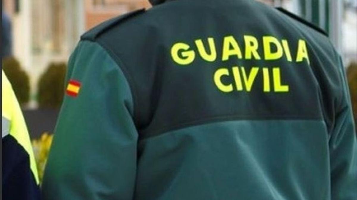 Imagen de un guardia civil.