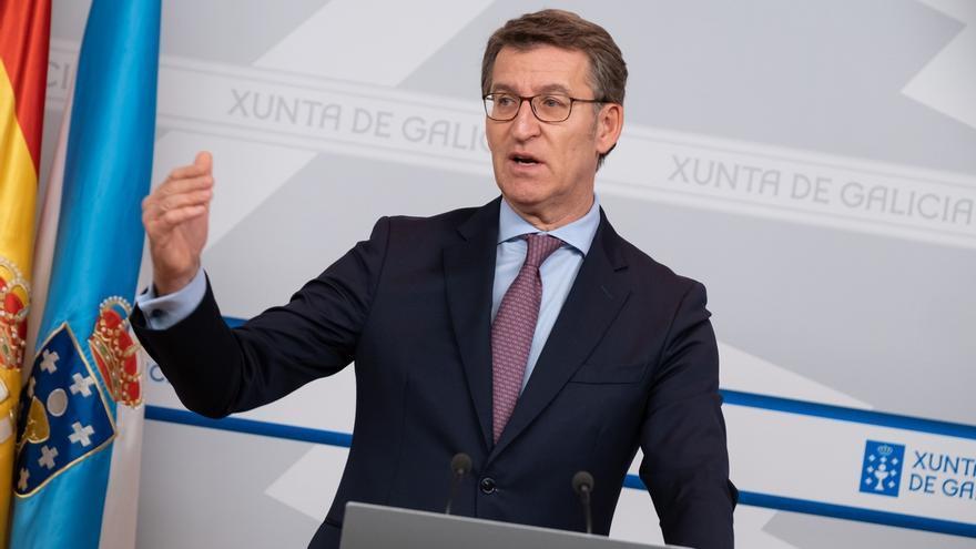 """Feijóo subraya que se está """"a tiempo"""" de un Gobierno """"entre constitucionalistas"""", frente a uno """"letal para España"""""""