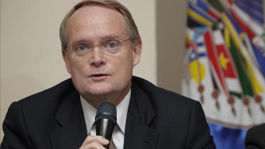 Lobo reitera el apoyo a la paz que prometen las pandillas, dice el representante de la OEA