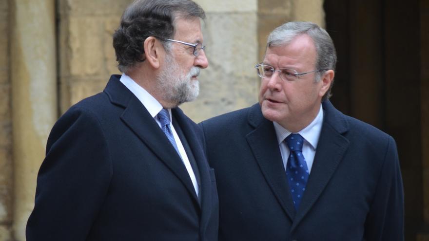 Rajoy enmienda en León su error al señalar al Reino Unido como cuna del parlamentarismo