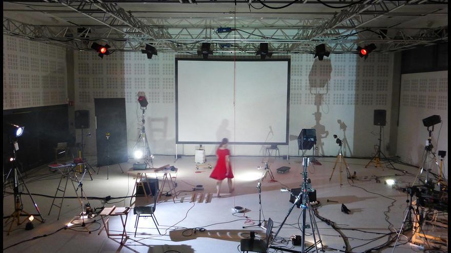 El Centro Párraga presenta un espectáculo coreográfico y audiovisual de Olga Mesa