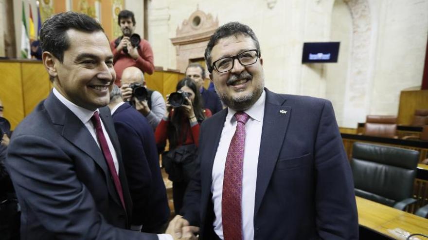 Una auditoría integral de la Junta, primera medida de Moreno como presidente