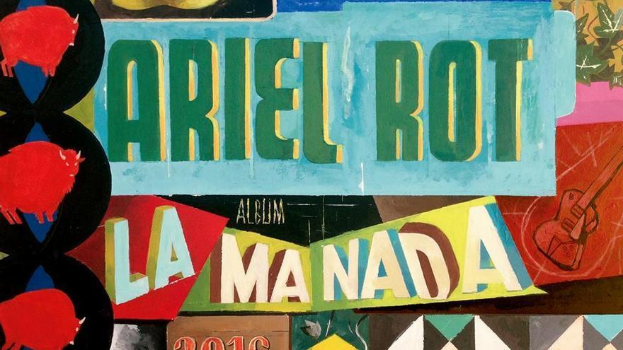 Portada del último disco de Ariel Rot, diseñada por Víctor Coyote