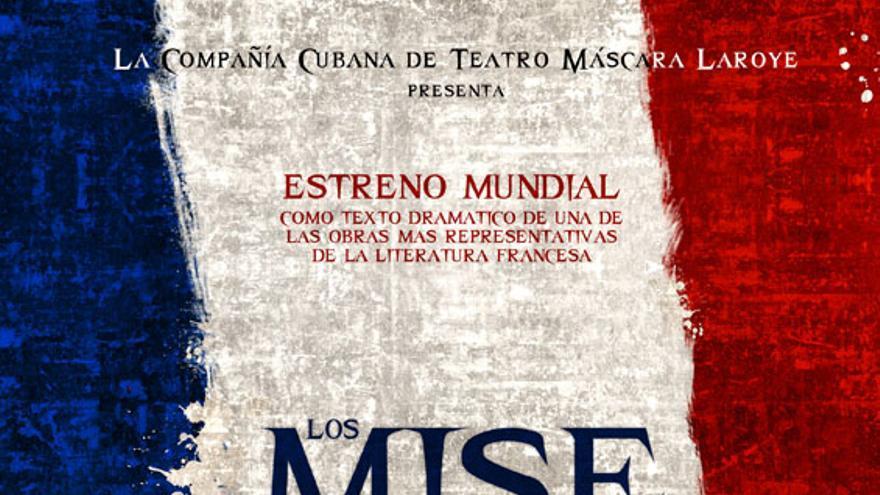 Los Miserables. Fotografía de la página web del Teatro Victoria