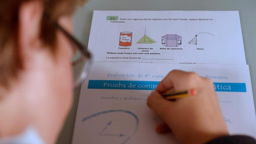 Las CCAA podrán excluir en prueba final Primaria a alumnos con dificultades