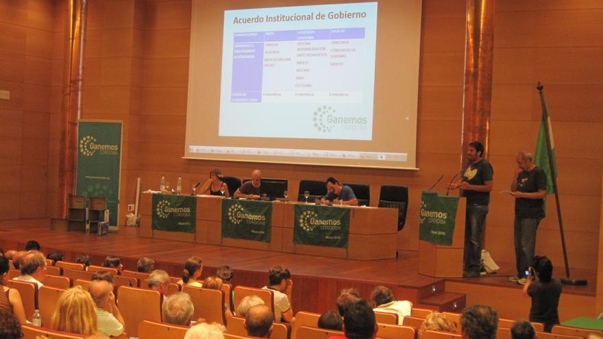 La Asamblea de Ganemos Córdoba decidió no entrar a formar parte del gobierno municipal.