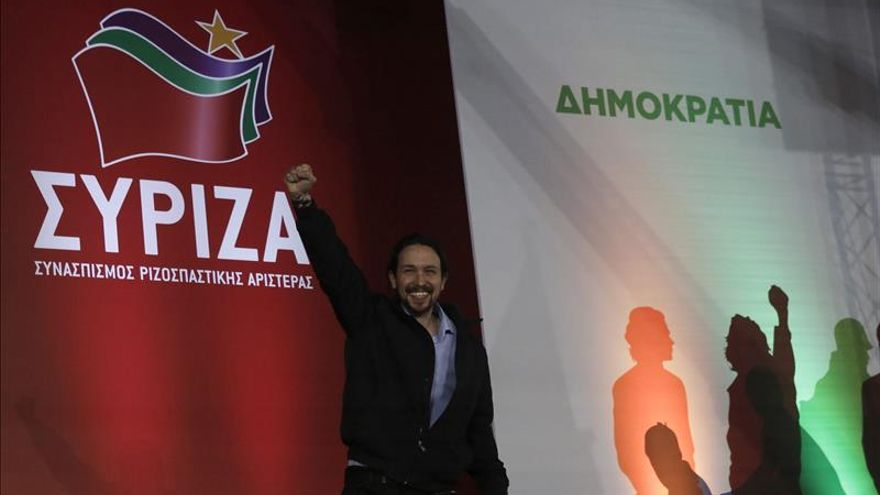 """Pablo Iglesias dice que """"nadie va a hacer los deberes de los griegos ni de españoles"""""""