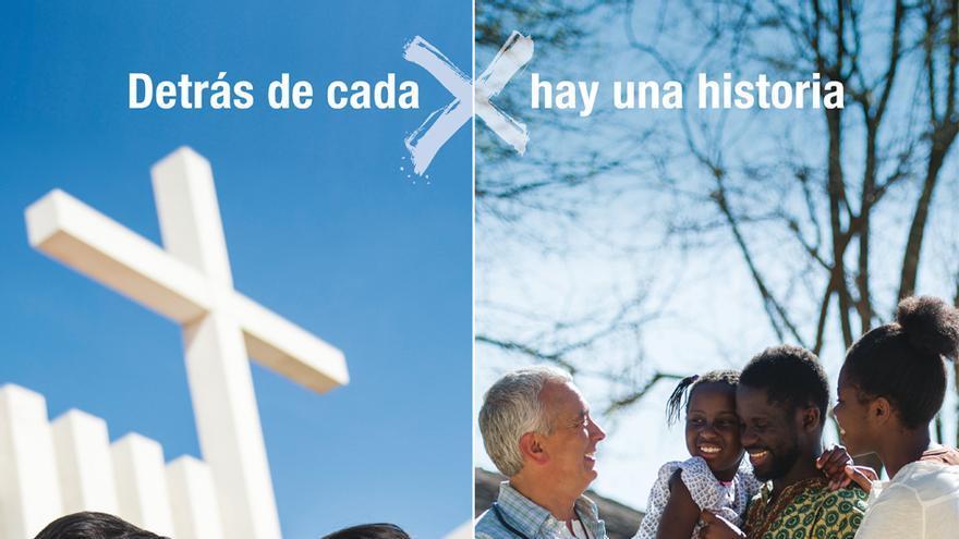 Imagen de la campaña de la renta de la Conferencia Episcopal