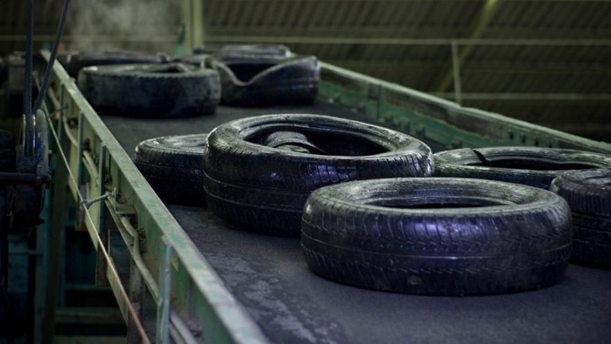 Planta de gestión de neumáticos