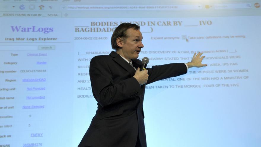 Julian Assange, en 2010.