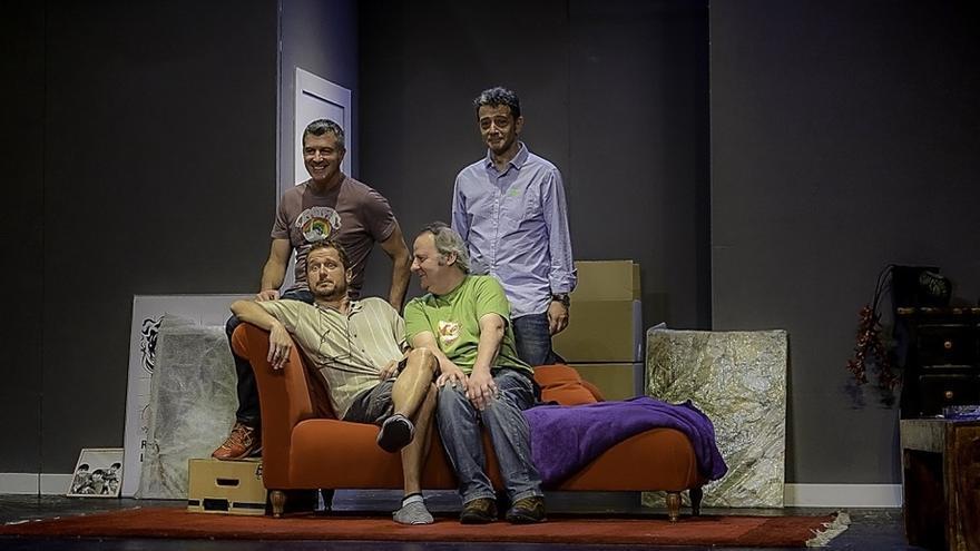 La comedia 'La curva de la felicidad' llega este viernes y sábado al Teatro Campos Elíseos de Bilbao