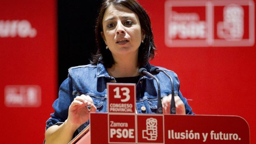 """La vicesecretaria del PSOE dice que """"nunca ha habido tregua"""" con el PP y C's"""