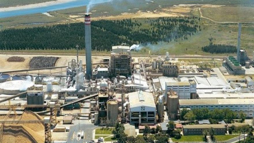 Fábrica de Ence Energía en Huelva