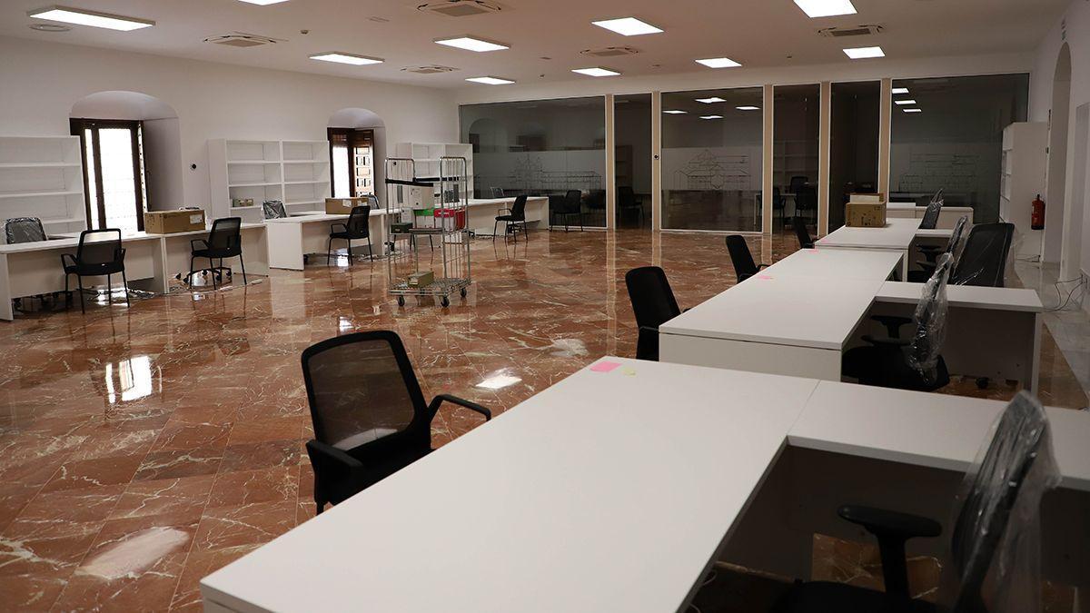 Instalaciones renovadas en la Diputación de Córdoba.