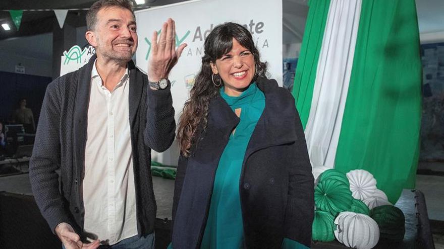 """Adelante Andalucía se presenta como """"el voto útil frente al régimen andaluz"""""""