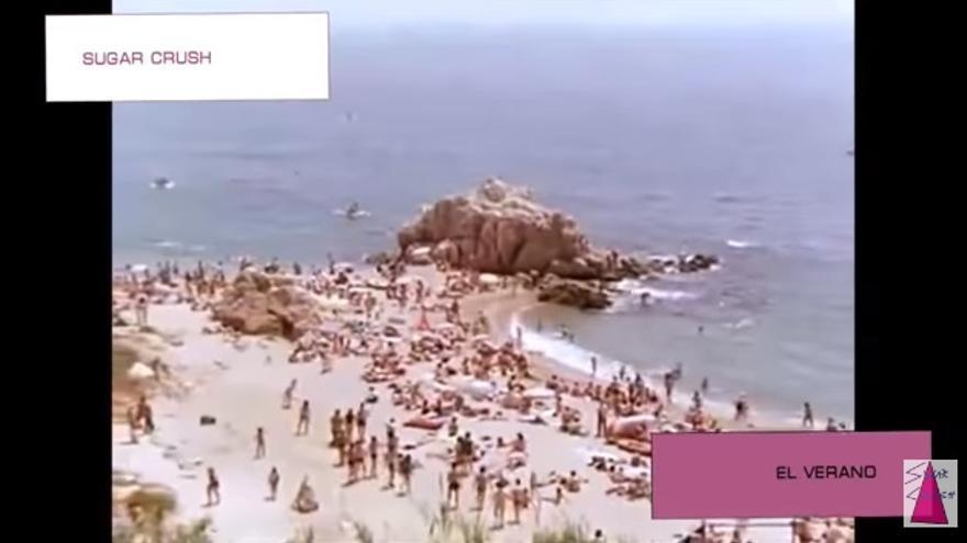 Una de las imágenes del vídeo de Sugar Crush