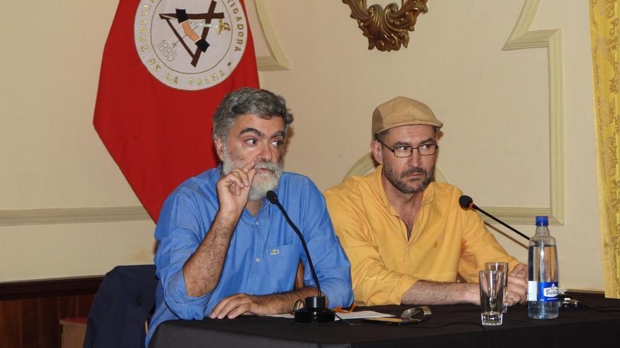 Anelio Rodríguez (i) y Roberto A. Cabrera.