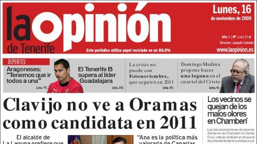 De las portadas del día (16/11/09) #5