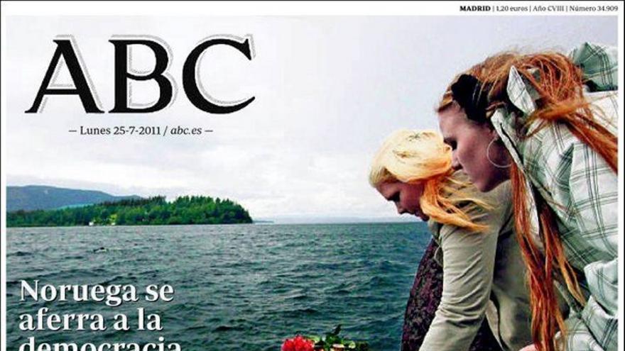 De las portadas del día (25/07/2011) #5