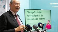 El presidente de la Red Europea de Prevención del Tabaquismo, Francisco Rodríguez.