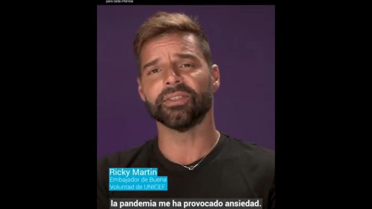 Ricky Martin es embajador de buena voluntad de Unicef