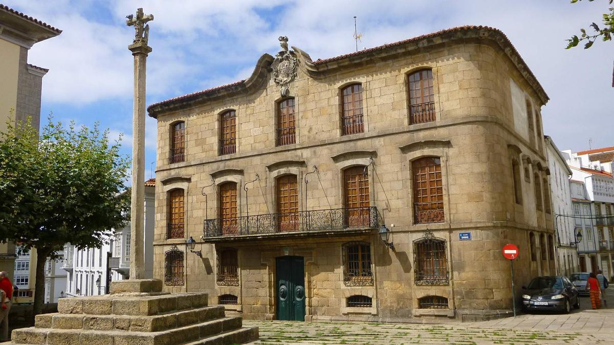 La Casa Cornide, en la ciudad vieja de A Coruña.