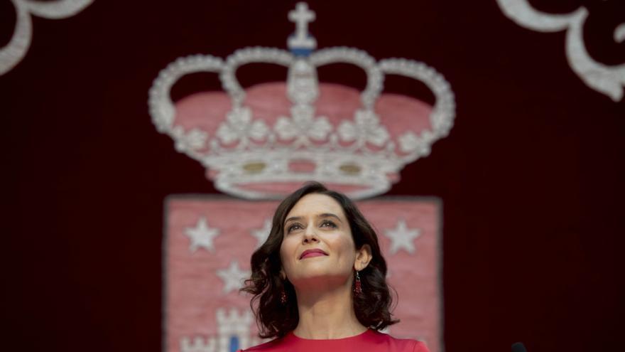 Presidenta de la Comunidad De Madrid, Isabel Díaz Ayuso.