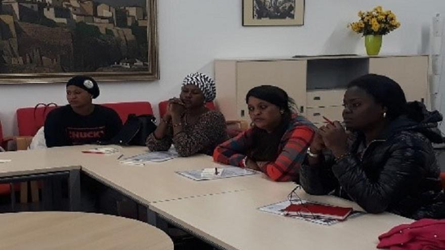 Mujeres africanas 'facilitadoras' del empoderamiento y la integración en Albacete