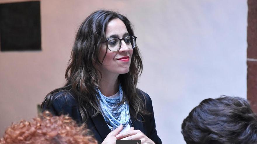 Patricia Figuero es la presidenta del colectivo Violetas LGTBi+.