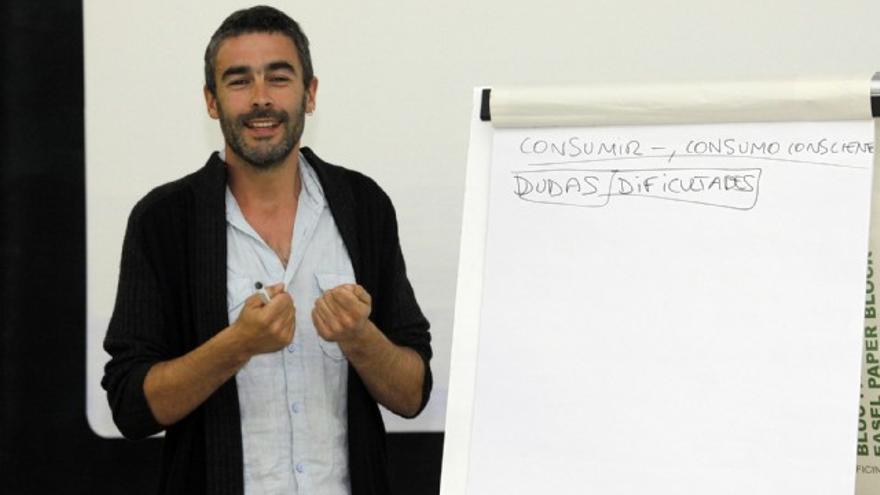 Toni Lodeiro, autor del libro 'Consumir menos, vivir mejor'