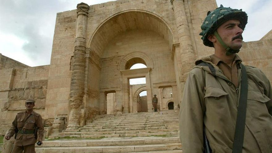 Las milicias progubernamentales arrebatan al EI la comarca iraquí de Hatra