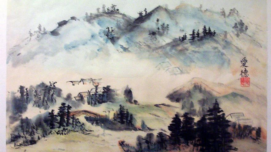 Ilustración de inspiración taoísta / Taoismo.es