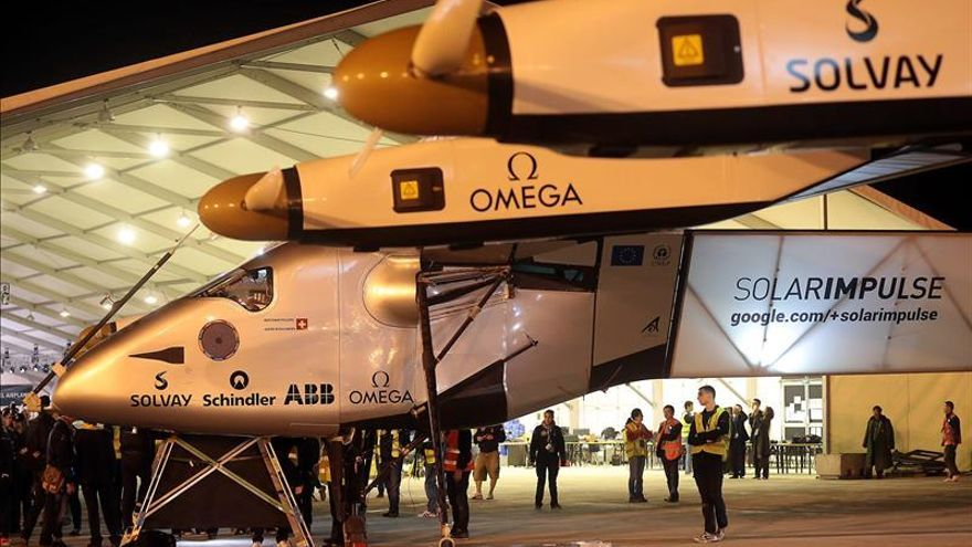 El Solar Impulse II ultima preparativos para su gran travesía por el Pacífico