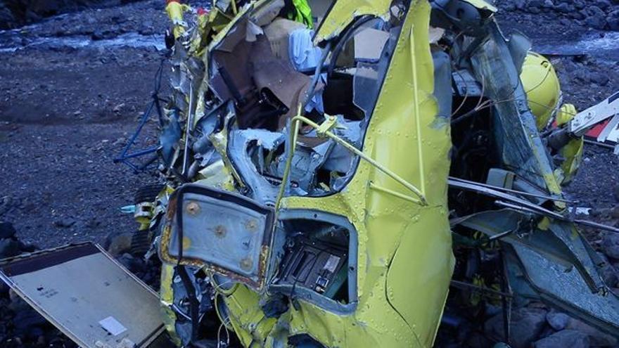 Del helicóptero accidentado #2