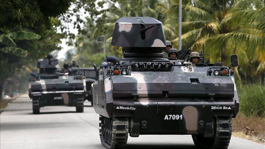 Un soldado secuestra un autocar con escolares en Filipinas durante varias horas