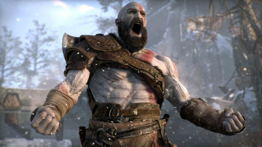 Kratos, protagonista de 'God of War'